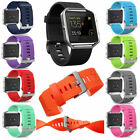 Soft Sports Silicone Watch Band Wrist Strap For Fitbit Blaze Smart Watch & frame