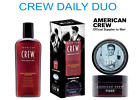 AMERICAN CREW DAILY DUO - Moisturising Shampoo & Hair Styling Products