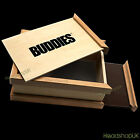Buddies Wooden Sifter Box Pollen Collector Pollinator Sift Stash Box Magnetic