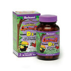 Super Earth Rainforest Animalz Vit D3 400 IU w/ Whole Food (Berry) 90 Chewables