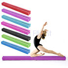 7ft Gymnastics Folding Balance Beam 2.1M Hard Wearing Faux Leather Gym Training