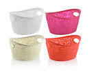 New 9 liter capacity Lace Bouque Basket Storage Hamper Home New