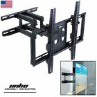 Cantilever Tilt Swivel Corner TV Wall Mount Bracket  For Samsung Vizio LED 99Lbs