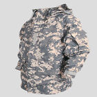 Southplay Mens Waterproof  Rain Military Jackets For Wind Stopper Outdoor ACU