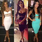 Summer Women's Bandage Bodycon Dress Casual Evening Party Cocktail Mini Dress