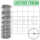 50/25M 1.2/1/0.8M Stock Fencing Sheep Pig Cattle Livestock Fence Galvanised Wire <br/> 400+Sold✔Free postage✔4 Sizes✔Cheapest In UK✔