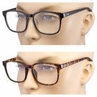 large lens reading glasses - Large Oversized Glasses READING Clear Lens Thin Frame Geek Nerd Glasses