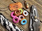 Tactical Donut Beads for keychain, knife lanyard, paracord project, lots of fun