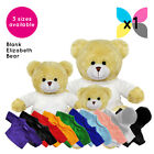 1 Blank Elizabeth Bear Soft Toy Plain T-Shirt Hoody for Transfer Sublimation
