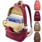 """Canvas 13""""13.3""""15""""15.6"""" Laptop Backpack Pouch Rucksack PC Bag For Macbook Lenovo"""