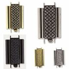 BEADSLIDE CROSS HATCH Slider Clasp 5 colors MADE IN GERMANY
