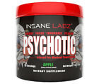 INSANE LABZ PSYCHOTIC 35 SERVINGS pre-workout pump focus labs i am god possessed