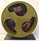 "SUGAR GLIDER/SMALL ANIMAL SILENT RUNNER WHEEL 12""WIDE, OPTIONAL  CAGE ATTACHMENT"