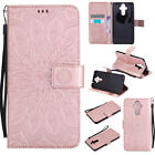 Printed Magnetic Flip Stand Card Leather Wallet + TPU Case Cover For Huawei
