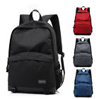 "Casual Nylon 15""15.6"" Laptop Backpack Pouch Computer travel Bag For Macbook Dell"