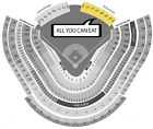 3 Tickets Los Angeles Dodgers vs San Diego Padres Tickets 04 03 17, Opening Day
