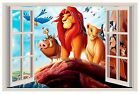 Lion King Disney 3D WALL STICKER BEDROOM decor ART KIDS DECA