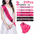 21PCS BRIGHT HEN PARTY SASH SASHES GIRLS DO NIGHT OUT ACCESSORIES WEDDING BRIDE