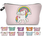 StylesILove Unique Unicorn Collection Pouch Travel Case Cosmetic Makeup Bag