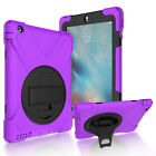 Hybrid Shockproof Heavy Duty Military Rubber Case Cover for iPad 2 3 4 Mini Air