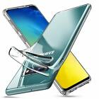 Tempered Glass Screen Protector & Ultra Thin Silicone Gel Case Cover For Samsung