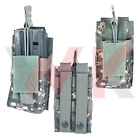 Tactical Single AR15 M4 M16 Rifle Magazine Pouch PVC MOLLE PALS Digital Camo