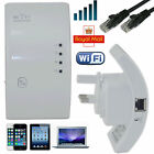New 300Mbps WiFi Range Extender Router Repeater Wireless Signal Booster UK Plug