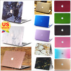 "Marble/ Glitter Bling Silk Matte Hard Case for MacBook Pro 13"" 13.3"" with CD-ROM"