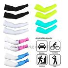 Outdoor Summer Sunscreen Cool Ice Silk Arm Cuff Sleeves UV-protection