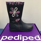Pediped Kenadi Girls Winter Boots in Navy leather (Was £55 Now only £34.90)