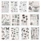 Silicone Clear Stamps Seal Scrapbooking Album Card Making Decor DIY Craft