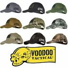 Voodoo Tactical Hunting Baseball Cap w/ Sewn On or Removable US Flag Patch