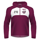 NRL 2017 Hoodie - Manly Sea Eagles - Workout Players Squad Hoody Jumper - BNWT