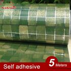 5Meter PVC Mosaic Wall paper Modern Self adhesive Wallpaper Bathroom Kitchen