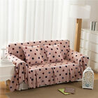 Dots Flannelette Slipcover Sofa Cover OusL Protector for 1 2 3 4 seater qdrs