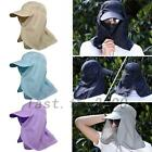 New Outdoor Face Neck Flap Sun Protection Anti-uv Fishing Hiking Hat Cap