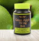 Natural 100% Pure Green Apple Extract 750mg Fresh Dietary Fiber Grade A 60Teblet