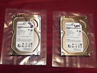 Lot Of Two Seagate ST3000DM001 3TB 3.5 Inch SATA Drives For Parts