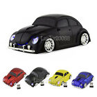 3D 2.4Ghz Wireless USB Volkswagen VW beetle car mouse Computer PC Mice Xmas Gift