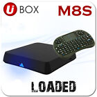 M8S 2015  SHOWBOX Quad Core WIFI   ANDROID TV BOX+ Wireless Keyboard