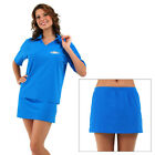 Ladies 2 Piece Swim Suit UV Sun Protection Swimwear Bathers Rash Top & Skirt