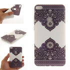 Patterned Ultra Slim Soft Rubber Silicone TPU Gel Back Case Cover For Huawei ZTE