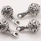 New 10/20Pcs Tibet Silver Hollow Out pendants Jeweley Findings Various Shape DIY