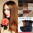 """Customized 100% Human Hair Extension Headband Wire Hair Extensions Hand Made 30"""""""
