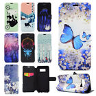 Colorfu Magnetic Flip Stand PU Leather Wallet Case Cover Skin For Various Phone