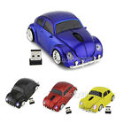 2.4Ghz Wireless VW beetle car mouse Optical PC/Laptop Mice +USB Receiver US Gift