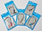 lot AUX SPLITTER CABLE FOR iphone 5 plus 4 4s ipod car amp mp3 stereo audio pc