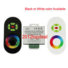 DC 12V-24V Wireless RF Touch Panel Dimmer 18A RGB Remote Controller F RGB Light