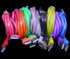 50 Lot LED LIGHT CHANGE 3ft data sync charger cables FOR apple iphone 6 plus 5s