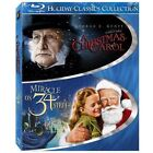 Holiday Classics Collection Christmas Carol Miracle on 34th Street Blu-ray NEW